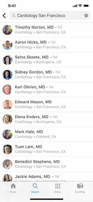 MedSynapse App Screen